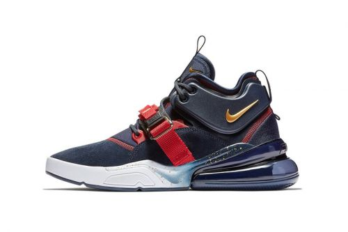 "Nike Air Force 270 Goes for Gold with ""Dream Team"" Colorway"