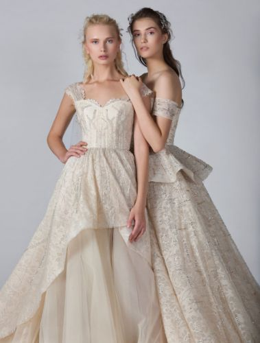 Flight to Love and Freedom - GEORGES HOBEIKA Bridal Fall 2019