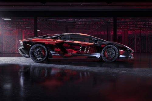 The Lamborghini Aventador S Takes an Avant-Garde Turn With The Help of Yohji Yamamoto
