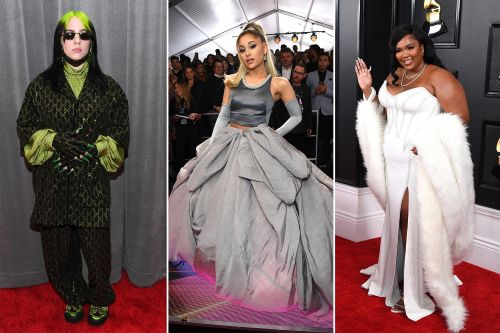 Ariana Grande, Billie Eilish, Lizzo dazzle on Grammys red carpet