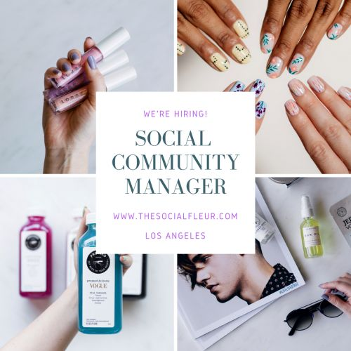 Social Media Community Manager and Strong Editorial Writers