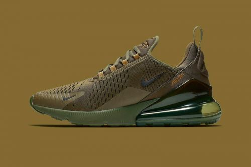 "Nike's Air Max 270 Gets Suited up in ""Triple Olive"""