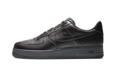 "Nike Set to Release the Air Force 1 Flyleather ""Triple Black"" on Black Friday"