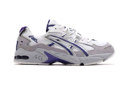 "ASICS GEL-KAYANO 5 OG ""Gray"" Gets Accented With Bold Hits of Purple"