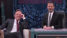 Jimmy Kimmel Embarrasses Bryan Cranston With A Clip Of An Early Soap Opera Gig