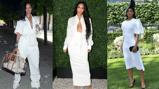Celebrities Championed All-White Looks This Week
