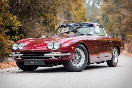 Paul McCartney's Glamorous 1967 Lamborghini 400 GT Is Up For Sale