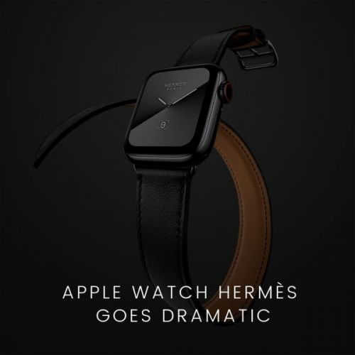Apple Watch Hermès Goes Dramatic