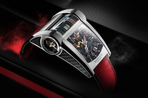 Parmigiani Fleurier's Type 390 Matches the Bugatti Chiron Sport