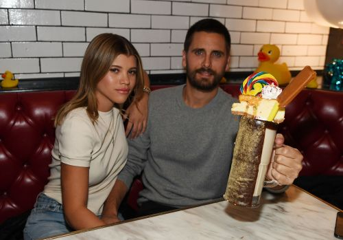 We See You, Girl! Sofia Richie Leaves Rare Comment on Scott Disick's Adorable Instagram Post