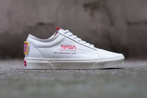 """Take Another Look at the NASA x Vans Old Skool """"Space Voyager"""""""