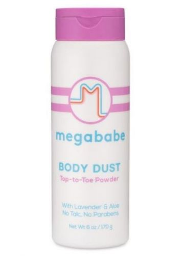 Megababe's Newest 'Body Dust' Will Keep You From Sweating Through Your Clothes