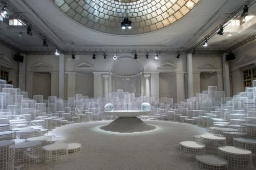 Caesarstone & Snarkitecture Play With Liquid Elements in New Ampitheater Installation