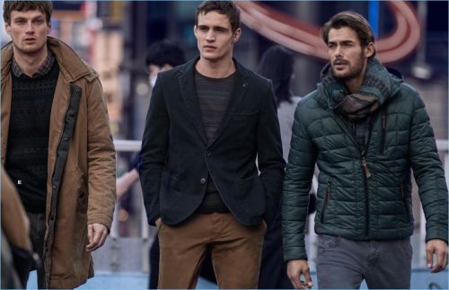 Jacey Elthalion, Julian Schneyder & Max Bender Travel to Tokyo for Camel Active Fall '18 Campaign