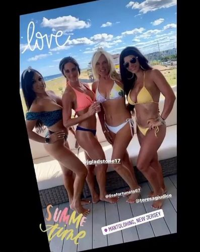 'RHONJ' Star Teresa Giudice Shows Off Rock Hard Bikini Body