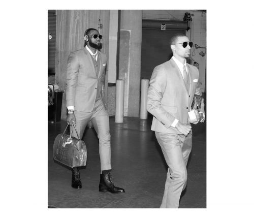 Thom Browne Dresses The Cleveland Cavaliers For Playoffs