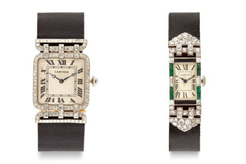 Harry Fane and DSML Present Diamond-Encrusted Cartier Watches From the 1920s