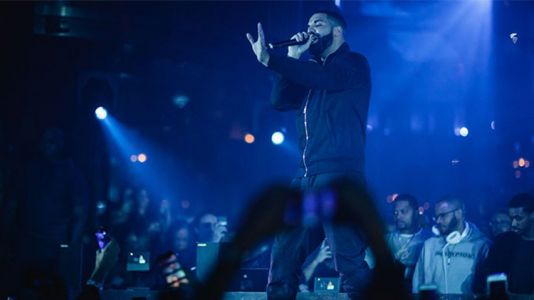 Drake Performs at OMNIA Nightclub in Caesars Palace Las Vegas - See Pics!