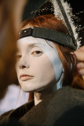 The Otherworldly Beauty of Rick Owens' A/W18 Show Make-Up