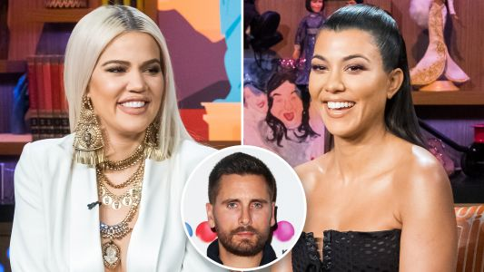Khloé and Kourtney Kardashian Hilariously Tease Scott Disick During Car Ride: 'Finally We Broke Him!'