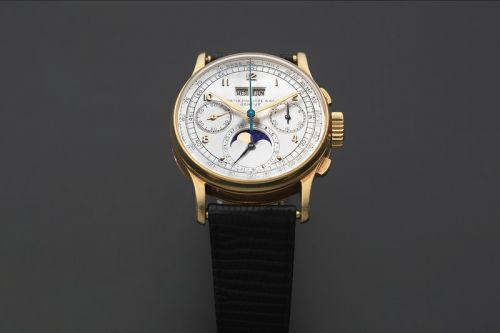 1947 Patek Philippe ref 1518 Sells for $420K USD in Fine Wristwatches Auction