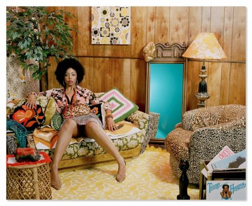 Artist Mickalene Thomas makes portraits to bring out your inner Foxy Brown