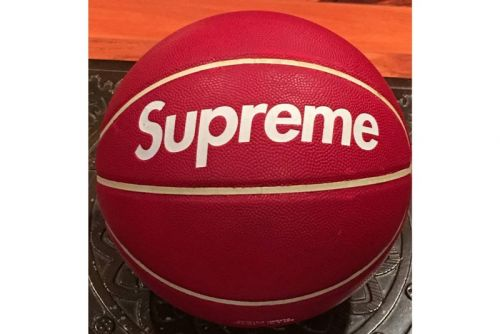 An Ultra-Rare Supreme x Spalding Basketball Is Selling for $25,000 USD