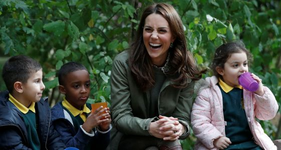 Kate Middleton Has Sweetest Response To Little Girl Who Asks Why People Are 'Picturing' Her
