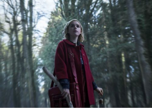 Stop what you're doing, there's new previews of Sabrina