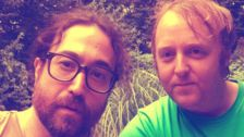 John Lennon And Paul McCartney's Sons Channel Famous Fathers In Snapshot