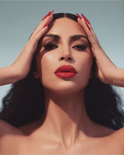 So Kim Kardashian has launched a new red lipstick