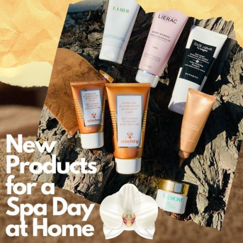 New Products for a Spa Day at Home