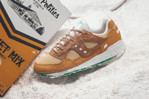 "The Sneaker Politics x Saucony Shadow 5000 ""Café Du Monde"" is a Tribute to New Orleans' Heritage"