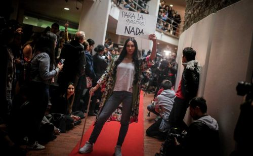 Tailoring peace: Colombian ex-rebels turn to fashion