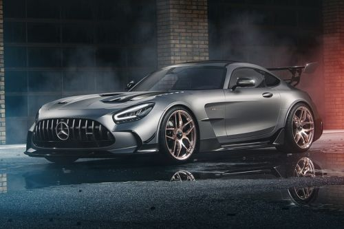 Wheelsandmore's Mercedes-AMG GT Black Series More Than Lives up to Its Name