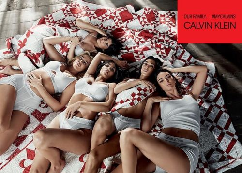 Calvin Klein cast the Kardashian sisters for its new campaign