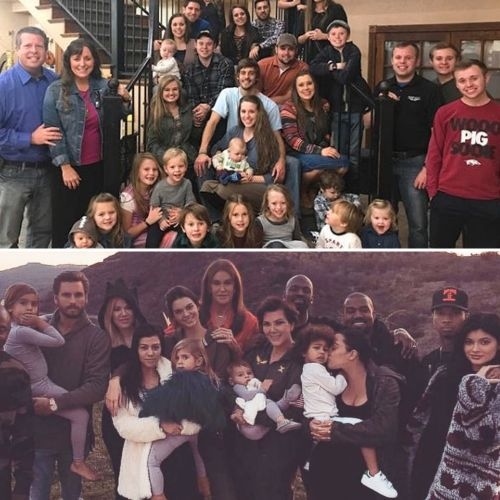The Duggars and the Kardashians Are More Eerily Alike Than You Think