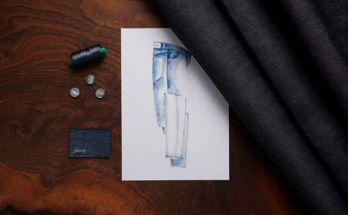 Brioni launches bespoke denim service