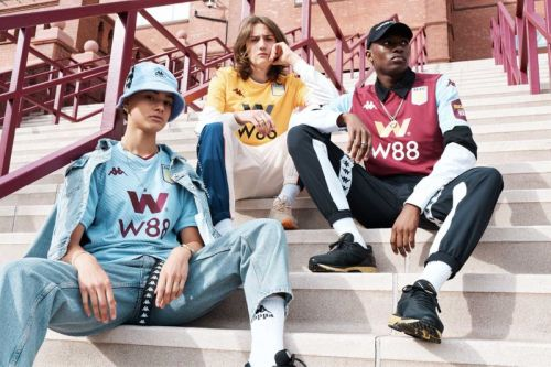 Aston Villa's 2019/20 Kits Are Pitch to Street Ready in New Kappa Lookbook