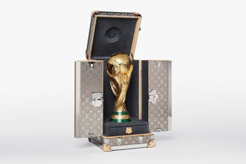 Louis Vuitton Unveils Official 2018 FIFA World Cup Trophy Case