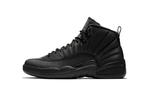 """Air Jordan 12 Receives a """"Winterized"""" Makeover Before the New Year"""
