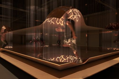 Studio INI & A/D/O to Launch Cocoon-Like Installation That Interacts With Visitors