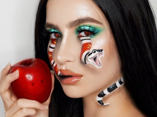 Halloween costumes that only require makeup
