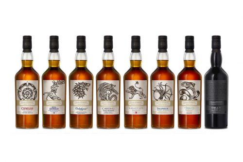 'Game of Thrones' Launches 8 Scotch Whiskies for Final Season
