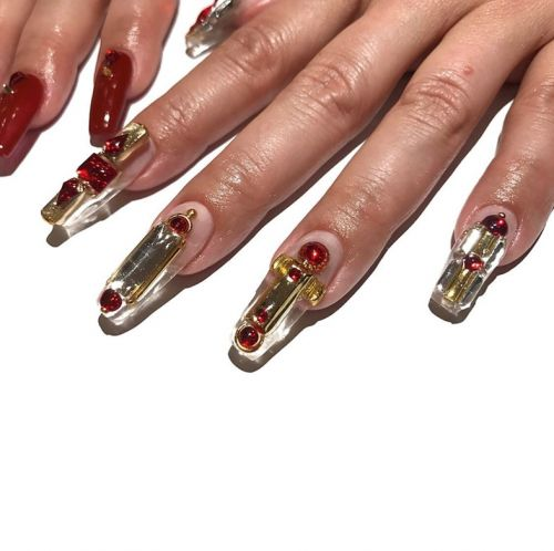 The best in 3D nail art