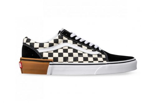 Vans Checkerboard Old Skool & Authentic Get a Gum Sole Mashup