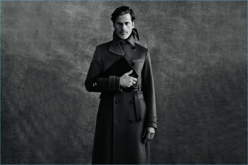Mark Vanderloo, James Rousseau + More Front Dior Men Fall '18 Campaign