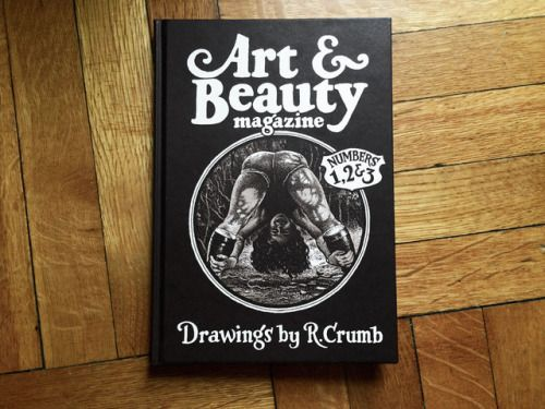 Art & Beauty Numbers 1,2 & 3. Drawings by R. Crumb