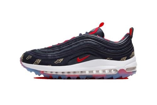 "Nike Unveils the Air Max 97 Golf ""Wing It"" in Navy"