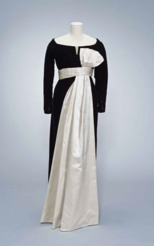 Evening DressYves Saint Laurent for Dior1955Fine Arts Museums of